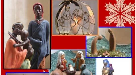 Exposición solidaria de belenes en Zaragoza del 14 al 23 de diciembre